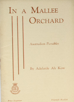 In a Mallee Orchard (Australian Parables)